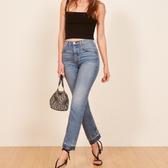 Reformation Denim - Reformation Cynthia high relaxed jeans S26